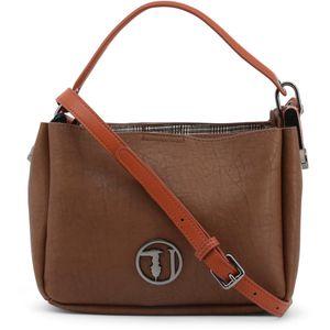 Brown  All Year  Women  Crossbody Bags  Polyurethane