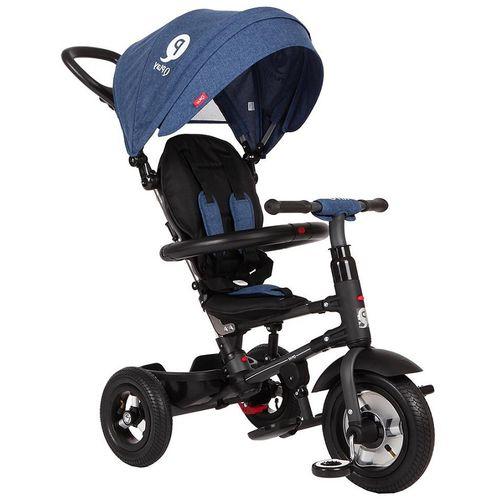 Dječji tricikl Rito plavi - gume na pumpanje slika 1