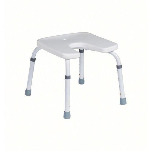 Stolac za tuširanje s higijenskim izrezom 9050AD (Rok isporuke 7 dana) slika 2