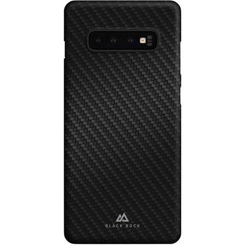 Black Rock Ultra Thin Iced Stražnji poklopac za mobilni telefon Pogodno za: Galaxy S10 Crna, Karbon crna boja slika 1