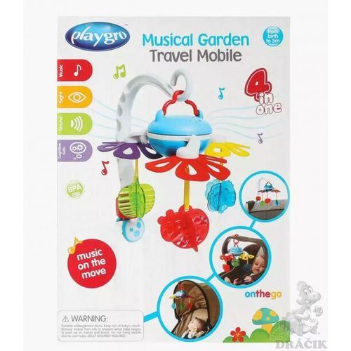 Playgro prijenosni glazbeni vrtuljak 4u1 slika 3