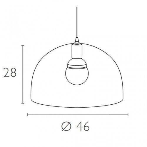 Dizajnerska lampa — MAKROLON slika 23