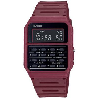 Casio COLLECTION ručni sat CA-53WF-4BEF je s razlogom jedan od najpopularnijih proizvoda iz CASIO kolekcije. Predivan ručni sat na kojem dominira crvena boja kućišta te crna boja brojčanika. Resin i crvena boja remena doista su odlična kombinacija. Ovaj prekrasan CASIO ručni sat pokreće quartz mehanizam.