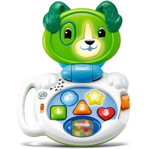 Više od 40 aktivnosti učenja, beba će se upoznati s brojevima, bojama i oblicima  Gumbi za oblik i brojeve izgovaraju imena oblika i boja i broje ih zajedno s Violet  Glazbeni gumbi za sviranje pjesama koje se rimuju o bojama, brojevima i oblicima!