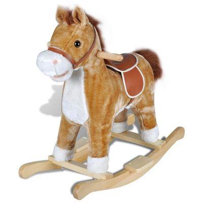 Ova visokokvalitetna ljuljajuća igračka s prelijepim konjićem donijet će bebama utjehu i radost. Ova mekana, plišana ljuljačka bit će sigurno omiljena igračka vaših mališana. Vaša će dječica uživati, satima se ljuljajući na ovoj prekrasnoj...