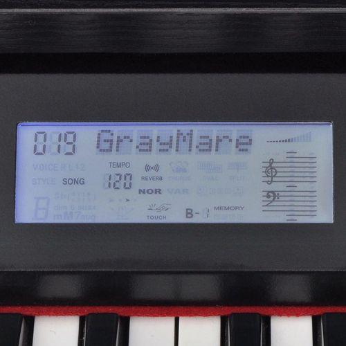 Digitalni klavir s pedalama crnom melaminskom pločom i 88 tipki slika 4