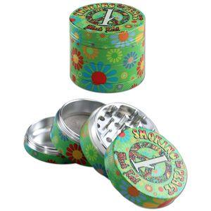 Četverodijelni grinder izrađen od aluminija s precizno izrađenim zubima u obliku dijamanta. Dolaze s magnetom za sigurno pričvršćivanje poklopca i prstenastim trenjem koji osigurava kvalitetno mrvljenje.