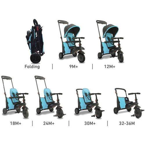 Smart Trike tricikl Folding 500 - Blue slika 3