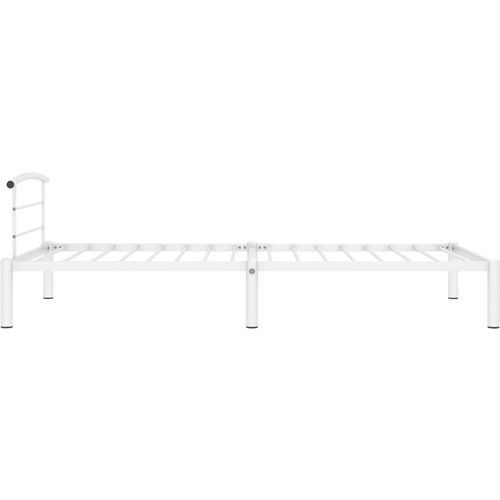 Okvir za krevet bijeli metalni 90 x 200 cm slika 4