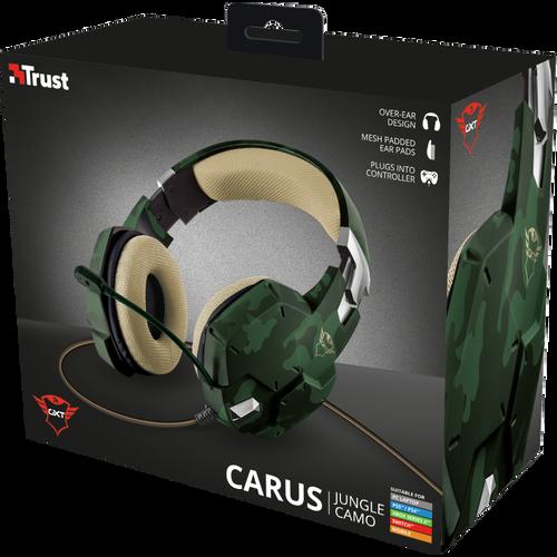 Trust gaming slušalice za PS4/PS5 GXT322 Carus maskirno zelene (20865) slika 8