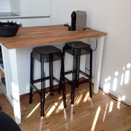 Dizajnerska barska stolica — POLY slika 5