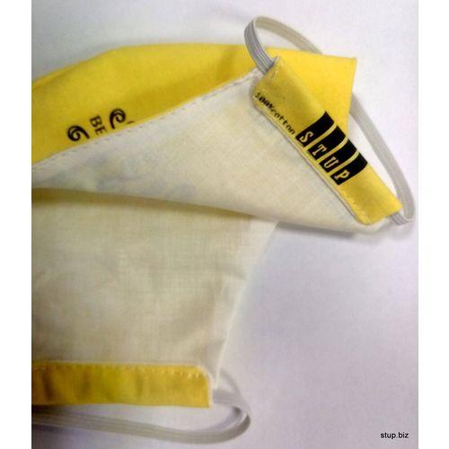 Periva maska za lice 25 - yellow BR 2020 slika 2