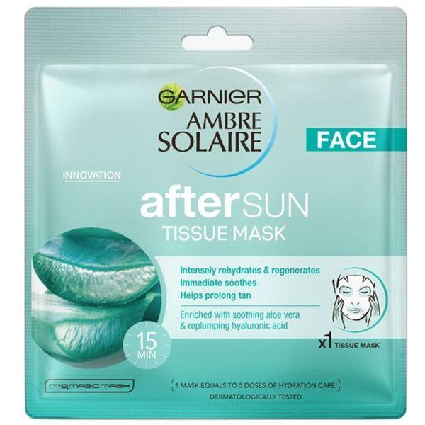 Garnier Ambre Solaire Maska u maramici za njegu nakon sunčanja
