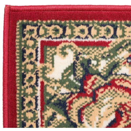 Orijentalni tepih perzijskog dizajna 180 x 280 cm crveni/bež slika 7