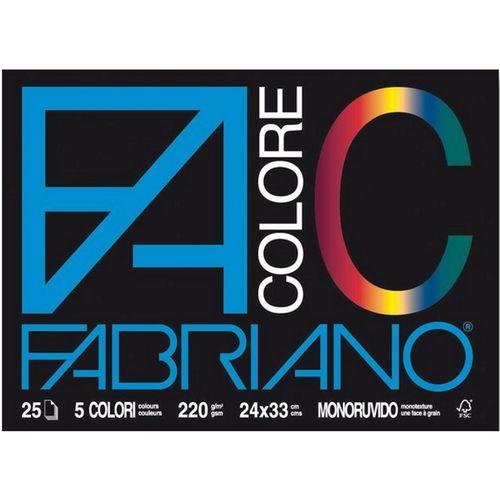 Blok FABRIANO Colore 33X48 220G 25L 65251533 slika 1