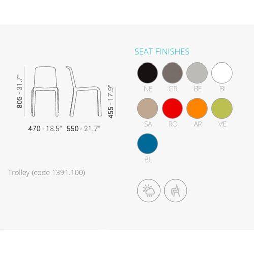 Dizajnerska stolica — by FIORAVANTI slika 2
