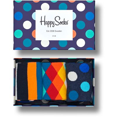 Sastav: 86% pamuk, 12%poliamid, 2% elastin  Paket se sastoji od 3 para čarapa.