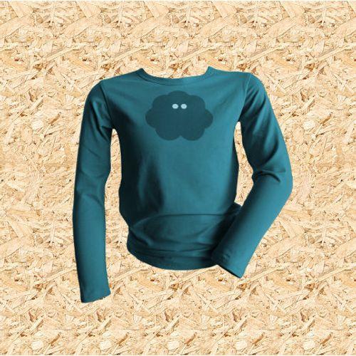 Dječja majica UV MINI PITONKA tirkizna slika 1