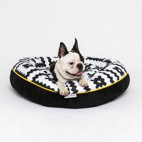 Hudog krevet kadica krug-dvostrani za ljubimce slika 1