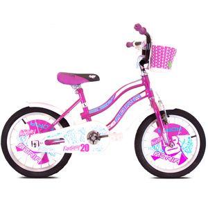 Moderan dječji bicikl atraktivnog izgleda idealan je za cestovnu i gradsku vožnju. Napravljen je od kvalitetnog materijala koji pruža dugotrajnost, izdržljivost i sigurnost tijekom vožnje. Idealan je za djecu od 6-8 godine te pruža udobnost tijekom vožnje na duže ili kraće staze. Pružite najbolju zabavu za Vaše dijete!