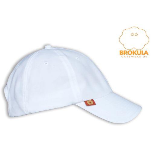 BROKULA SOLEA UV šilt kapa  za odrasle bijela, ONE SIZE slika 1