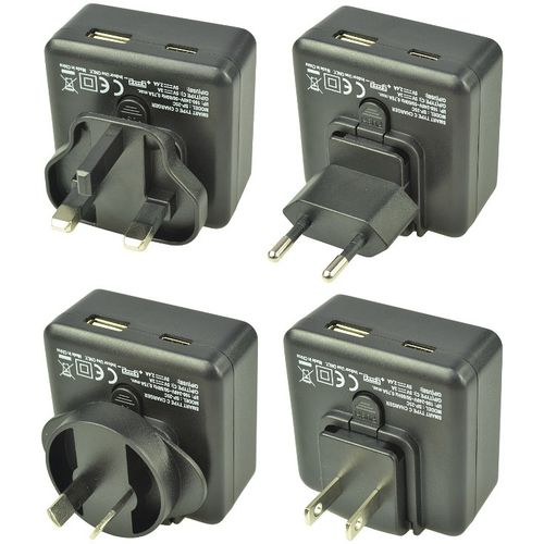 Duracell Travel Adapter Charger - Type-C/Type-A - 3A + 2.4A - Black  slika 2