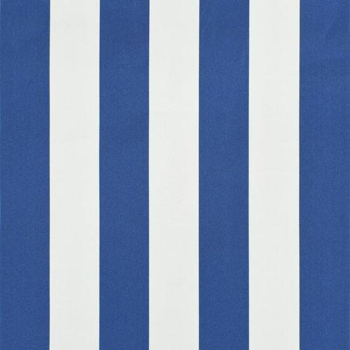 Bistro tenda 200 x 120 cm plavo-bijela slika 8