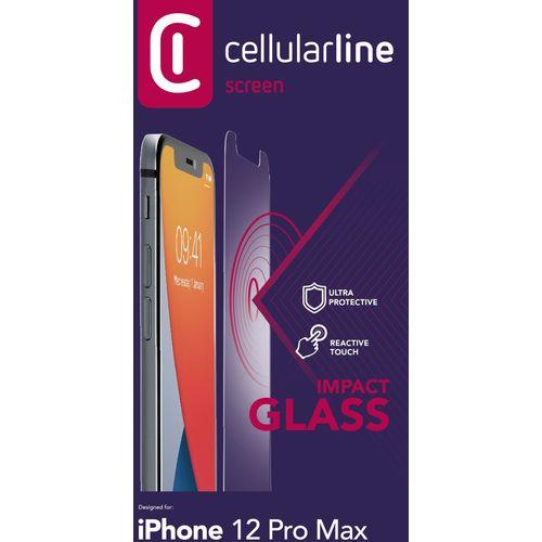 Cellularline zaštitno staklo za iPhone 12 Pro Max slika 2