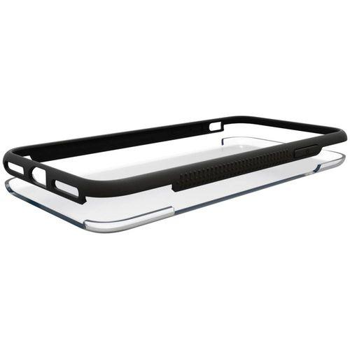 Hama Frame Stražnji poklopac za mobilni telefon Pogodno za: Samsung Galaxy S9+ Prozirna, Crna slika 3