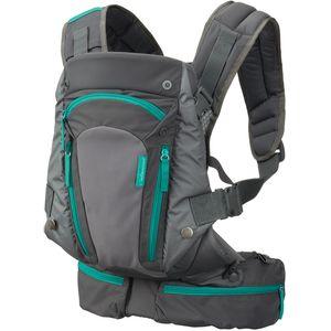 Nosiljka Infantino Carry On Multi-Pocket ima šest intuitivnih džepova plus podesivo sjedalo koje omogućuje nošenje novorođenčadi, a proširuje se za starije bebe i malu djecu - pružajući ergonomsku podršku u svim fazama.