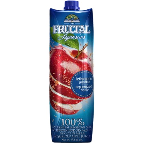 Fructal superior 100%  mutni sok od jabuke 1 l slika 1