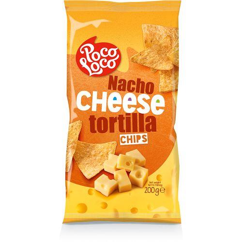 POCO LOCO tortilla chips, sir 200g slika 1