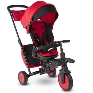 Smart Trike Folding Str7 je luksuzan 7 u 1 sklopivi tricikl za djecu u dobi od 6 - 36 mj. Raste s vašim djetetom u 7 faza, bez potrebe za dodatnim alatom.