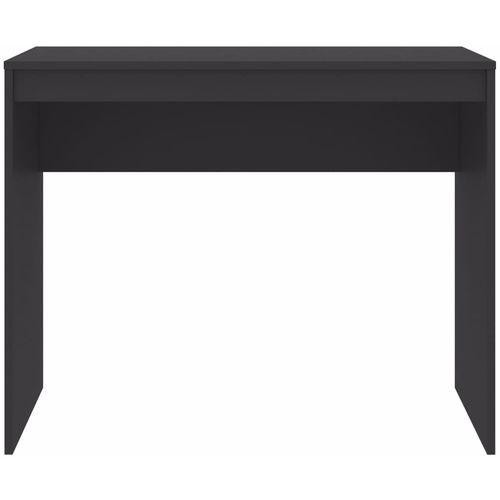 Radni stol sivi 90 x 40 x 72 cm od iverice slika 16