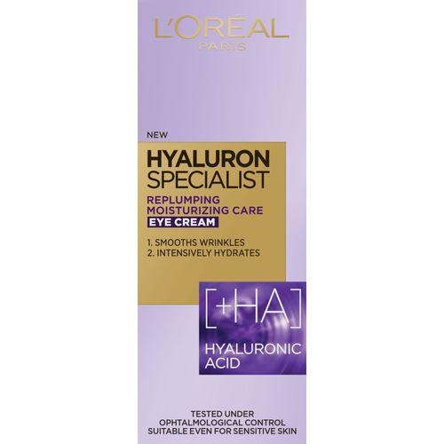 L'Oreal Paris Hyaluron Specialist krema za područje oko očiju 15 ml slika 2