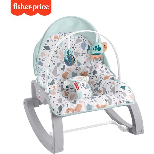 Fisher-Price Terrazzo 2u1 Newborn to Toddler Rocker / 0-18kg slika 2