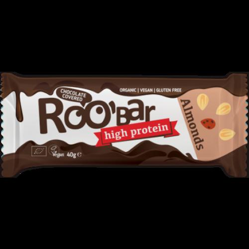 Roobar Bar Čokolada & Badem Protein 40g slika 1