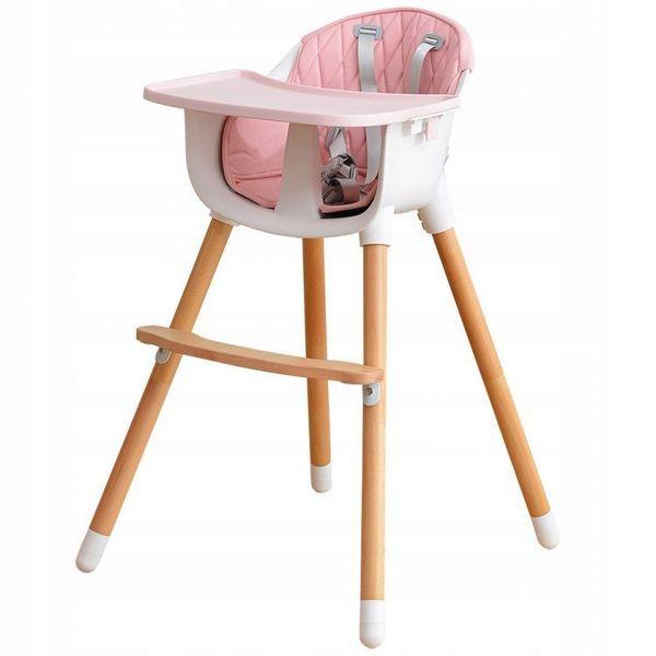 Luksuzna hranilica se razlikuje od drugih po tome što ima sjedalo presvučeno umjetnom kožom i noge od masivnog drveta.  Praktičan dizajn hranilice omogućava postavljanje pladnja na tri različite udaljenosti, a za dodatnu sigurnost djeteta tu je sigurnosni pojas u pet točaka.