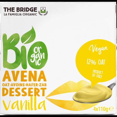 THE BRIDGE Desert od zobi s vanilijom BIO 4x110g