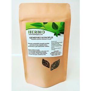 Za razliku od oljuštenih koje nemaju vanjsku opnu (ljuskicu) i koje se preporučaju konzumirati sirove, NEOLJUŠTENE (cjelovite) sjemenke konoplje sadrže veliku količinu vlakana (30g/100g) .
