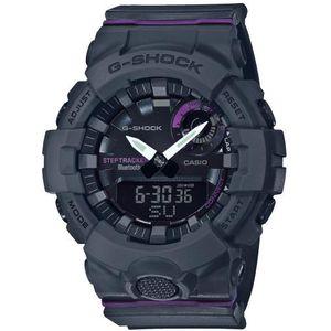 Casio G-Shock muški sat GMA-B800-8AER je s razlogom jedan od najpopularnijih proizvoda iz CASIO kolekcije. Predivan muški sat na kojem dominira crna boja kućišta te crna boja brojčanika. Resin i crna boja remena doista su odlična kombinacija. Ovaj prekrasan CASIO muški sat pokreće quartz mehanizam.