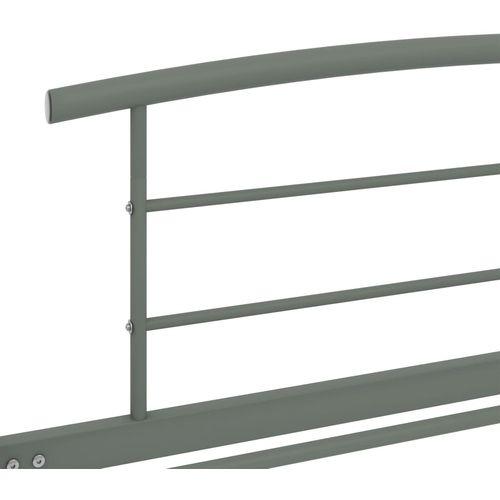 Okvir za krevet sivi metalni 90 x 200 cm slika 5