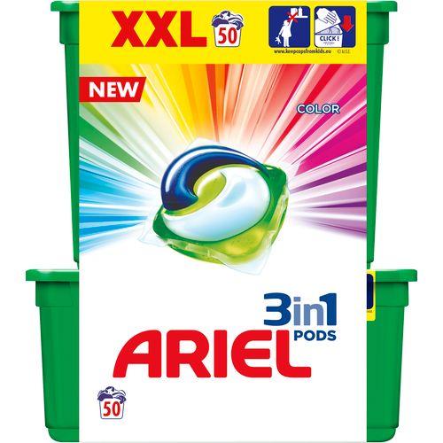 Ariel gel kapsule Color 50 komada (28+22) za 50 pranja slika 1