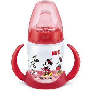 Disney NUK BPA Free First Choice bočica za učenje - Crvena    Bočica dolazi u crvenom Minnie motivu.    Motiv moze varirati ovisno o kolekciji    6-18 mj