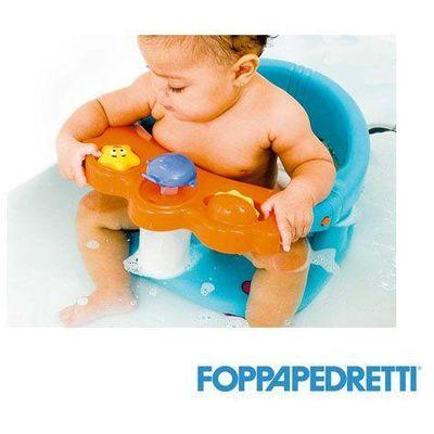 Tuffetto - sjedalo za kupanje  - sjedalo je namjenjeno djeci koja mogu samostalno sjediti do 16. mjeseci starosti.  - visoka udobnost sjedenja tijekom kupanja i tuširanja.  - tijekom kupanja roditelji imaju obje ruke slobodne, a dijete je sigurno...