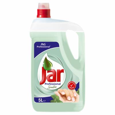 Sredstvo za ručno pranje posuđa koje razgrađuje masnoću 33% brže .  Boca od 5l može oprati do 250 profesionalnih sudopera.  Pogodno za učestala pranja.