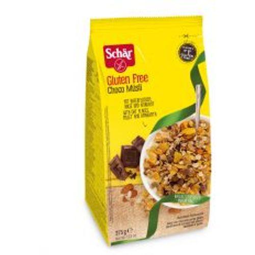 DR.SCHÄR bezglutenske čokoladne žitarice choco muesli 375g slika 1