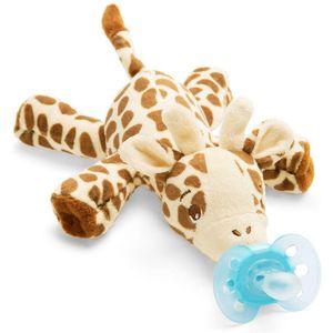 """- Svako maženje pruža još veću ugodu  - Uključuje """"ultra soft"""" dudu varalicu  - Plišana životinja s dudom """"ultra soft""""  - 0 m+  - Ortodontske, ne sadrže BPA  - 1x snuggle i 1x duda za bebe, 0 – 6 mj."""