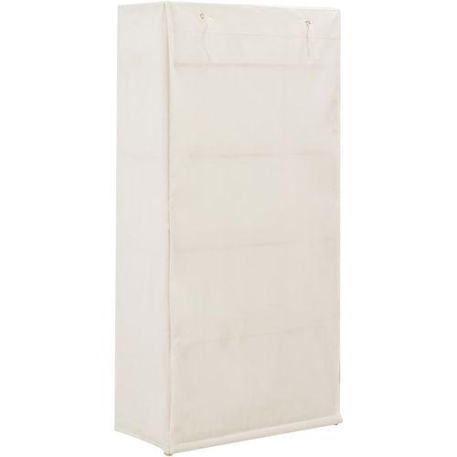 Ormar od tkanine bijeli 79 x 40 x 170 cm  slika 4