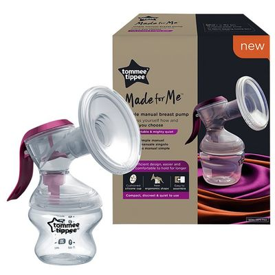 Izdajalica Made for Me jednostavna je, udobna i na diskretan način izdaja majčino mlijeka.   Njen ergonomski dizajn posebno je dizajniran da stane u ženske dlanove.